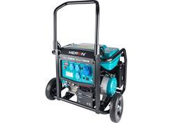 Heron 8896145 Elektrocentrála rámová benzínová 1F, 8,2kW, 17HP, podvozok, elektrický štart