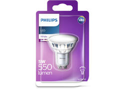 PHILIPS LED Classic 550lm GU10 WH 120D Žiarovka