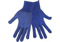 """Extol Craft 99713 Rukavice polyester s PVC terčíkmi na dlani, velkost 8"""""""