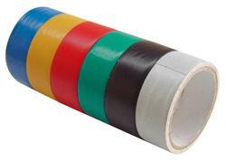 Extol Craft 9550 Lepiaca izolačná páska, 6-dielna sada, 18mmx3m