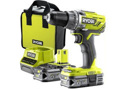 Ryobi R18DD3-225S 18V Akumulátorový vŕtací skrutkovač ONE + (2x2.5Ah)