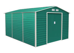 G21 Záhradný domček GAH 1300 - 340 x 382 cm, zelený