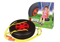 G21 Hračka Hojdačka pneumatika okrúhla čierno-červená