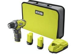 Ryobi R12DD-220S 12V Akumulátorový vŕtací skrutkovač (2x2.0Ah)
