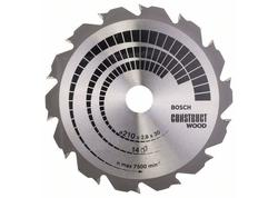 Bosch 2608640634 Pílový kotúč 210mm Construct Wood