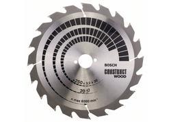 Bosch 2608641774 Pílový kotúč 250mm Construct Wood