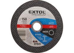 Extol Premium 8808105 Kotúč rezný na oceľ a antikoro, 150x1,0mm