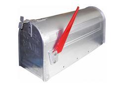 DEMA Hliníková americká poštová schránka, strieborná