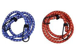 Extol Craft 96002 Popruhy elastické s hákmi, 2-dielna sada, 100cm