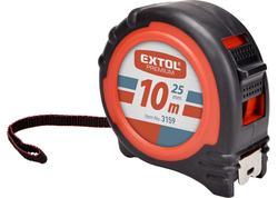 Extol Premium 3159 Meter zvinovací, 10m, šírka pásu 25mm