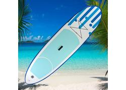 DEMA Stand-Up Paddleboard nafukovací s príslušenstvom do 110 kg, 305x81 cm, modrý