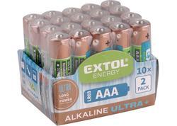 Extol Energy 42013 Batéria alkalická 20ks, 1,5V, typ AA