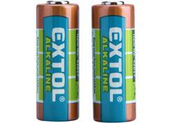 Extol Energy 42017 Batéria alkalická 2ks, 12V, typ 23A