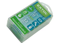 Extol Energy 42063 Batéria nabíjateľná 12ks, 1,2V, typ AA