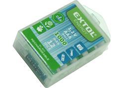 Extol Energy 42062 Batéria nabíjateľná 12ks, 1,2V, typ AAA