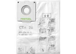 FESTOOL FIS-CTH 26/3 Bezpečnostné filtračné vrecko