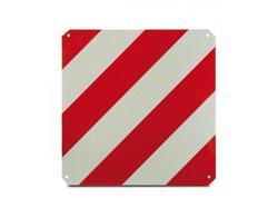 DEMA 69067D Výstražná reflexná tabuľka 50x50 cm, červeno-biela