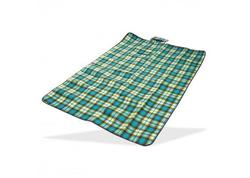 DEMA 93988D Plážová / pikniková deka 190x130 cm Acryl-Fleece, zelená
