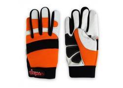 DEMA 30243D Protiporézne pracovné rukavice Class1 DIN EN 381, veľkosť 10