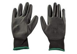 DEMA 23261D Pracovné rukavice s PU povrchovou úpravou Basic, veľkosť 8