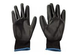 DEMA 23262D Pracovné rukavice s PU povrchovou úpravou Basic, veľkosť 9