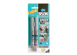 Bison Lepidlo Epoxy Metal, 24 ml