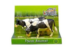 DEMA 12345D Kids Globe Kravy stojace čierno-biele 1:32, 2 ks
