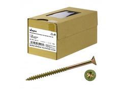 DEMA 35117D Skrutky do drevotriesky čiastočný závit 5x120/66 T30, 1 kg