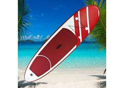 DEMA 17675D Stand-Up Paddleboard nafukovací s príslušenstvom do 110 kg, 305x81 cm, červený