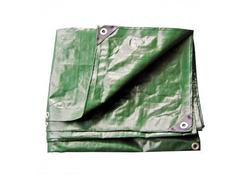 DEMA 24716D Nepremokavá plachta zakrývacia 6x10 m 210 g/m2, zelená