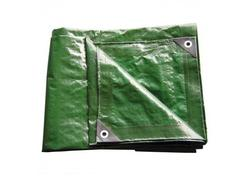 DEMA 24703D Nepremokavá plachta zakrývacia 3x6 m 140 g/m2, zelená