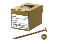 DEMA 35111D Skrutky do drevotriesky čiastočný závit 5x50/30 T25, 1 kg