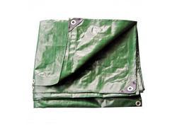 DEMA 24713D Nepremokavá plachta zakrývacia 3x5 m 210 g/m2, zelená