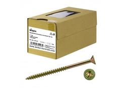 DEMA 35123D Skrutky do drevotriesky čiastočný závit 6x160/66 T30, 1 kg