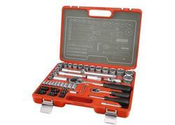 Extol Premium 6521 Sada 75-dielna nástrčných kľúčov
