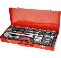 8818370 Sada 65-dielna nástrčných kľúčov EXTOL PREMIUM