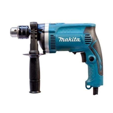 Makita HP1630K Elektronická príklepová vŕtačka dodávaná v kufríku 710W