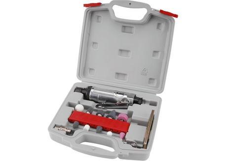 Extol Premium GD 170 B Brúska priama pneumatická s nadstavcami (8865002)