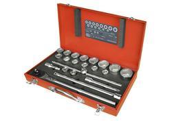 Extol Premium Sada 22-dielna nástrčných kľúčov 8818350