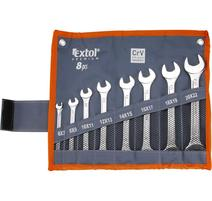Extol Premium 6119 Kľúče vidlicové 8-dielna sada