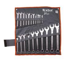 Extol Premium 6335 Kľúče očko-vidlicové 21-dielna sada