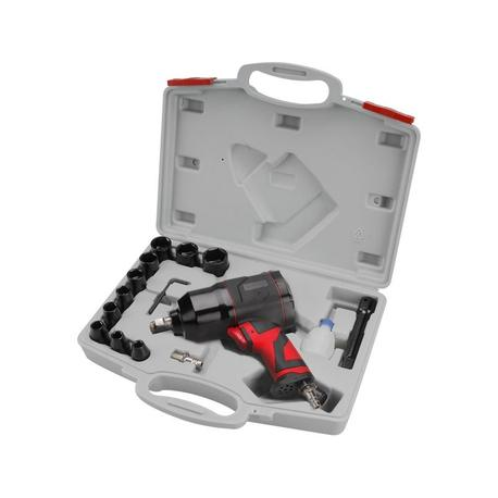 Extol Premium WI 340 B Uťahovák príklepový pneumatický s príslušenstvom 8865004