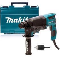 Makita HR2630X7 Elektropneumatické kombinované kladivo