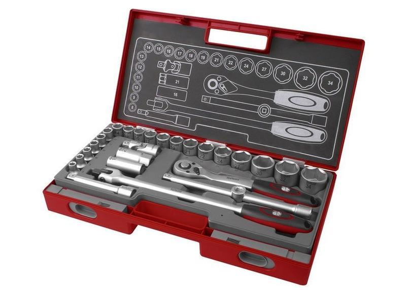 Fortum Sada 27-dielna nástrčných kľúčov 4700014