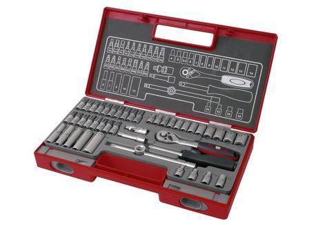 Fortum  Sada 45-dielna nástrčných a zástrčných kľúčov 4700013