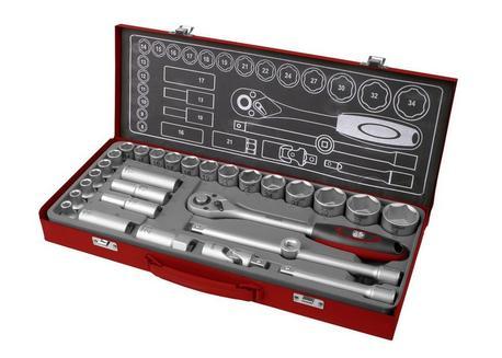 Fortum 4700001 Sada 29-dielna nástrčných kľúčov