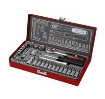 Fortum 4700003 Sada 31-dielna nástrčných a zástrčných kľúčov