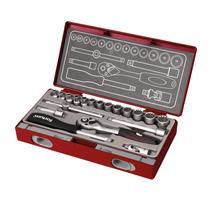 Fortum 4700031 Sada 19-dielna nástrčných kľúčov Multi-lock