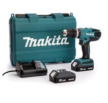 Makita HP457DWE Aku príklepový vŕtací skrutkovač 18V - G-séria