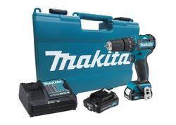Makita HP332DSAE Aku vŕtací skrutkovač s príklepom 12V, 2Ah